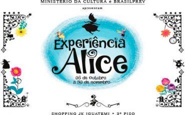 Programe-se! Exposição interativa de Alice no País das Maravilhas, no JK Iguatemi, a partir de 06 de Outubro