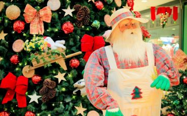 Papai Noel chega neste sábado no Shopping Interlagos
