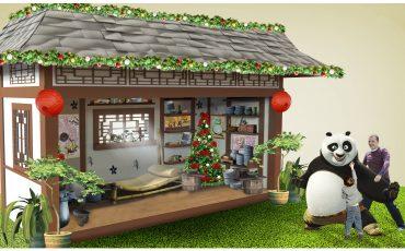 Natal Kung Fu Panda no Central Plaza Shopping