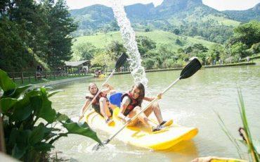 Muita diversão nas férias do Acampamento Paiol Grande