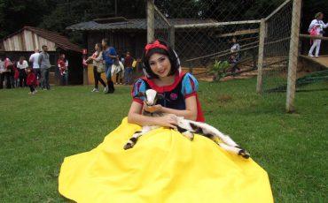 Um dia com as princesas nas férias do Parque Della Vittoria
