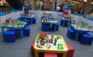 Minimundo Playmobil agita férias no Shopping Penha