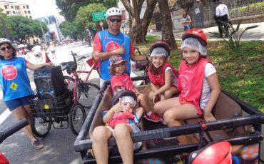 Bike Tour SP oferece passeio de bicicleta gratuito para crianças