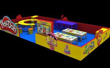 JK Iguatemi traz oficina de massinha Play-Doh para as férias da criançada