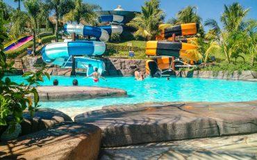 Muita diversão no parque aquático de São Pedro, o Thermas Water Park