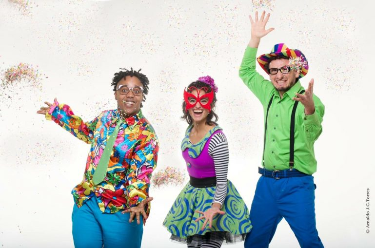 Tem Carnaval gratuito com Grupo Triii para alegria da criançada