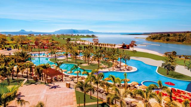 Malai Manso Resort, na Chapada dos Guimarães, oferece Spa e atividades infantis