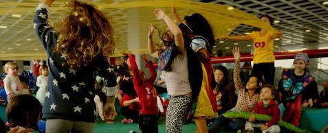Sesc Belenzinho promove atividade gratuita para crianças com Cia Circo de Trapo