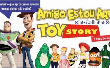 Gosta de Toy Story? Então você vai se encantar com esse espetáculo e ainda tem desconto do Passeios Kids