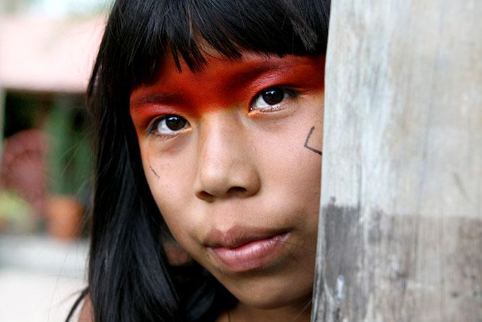 Toca da Raposa promove intercâmbio das crianças com índios do Xingu