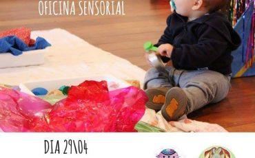 Nosso Quintalzinho promove oficinas sensoriais para bebês no próximo sábado