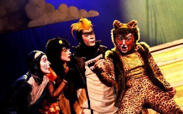 """Espetáculo """"Arca de Noé"""", inspirado nas canções de Vinícius de Moraes e Toquinho, estreia no Teatro Gazeta"""