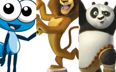 Bob Zoom, Alex de Madagascar e Panda  no Cine Drive-in Kids do SuperShopping Osasco