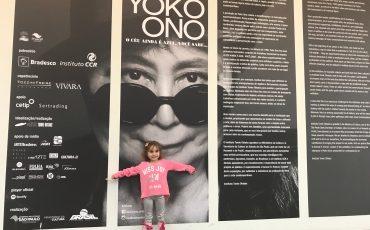 Exposição da Yoko Ono no Tomie Ohtake merece ser visitada por crianças