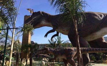 T-Rex Park, parque de dinossauros, está chegando e promete muita diversão para a criançada