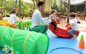 Praça São Lourenço tem atividades para crianças nas férias