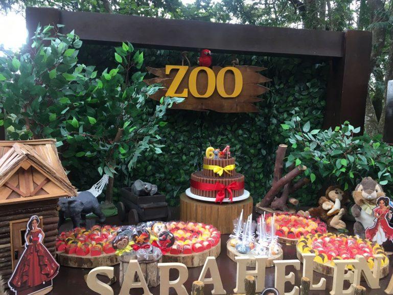 Festa de Aniversário em meio à natureza no Parque Della Vittoria