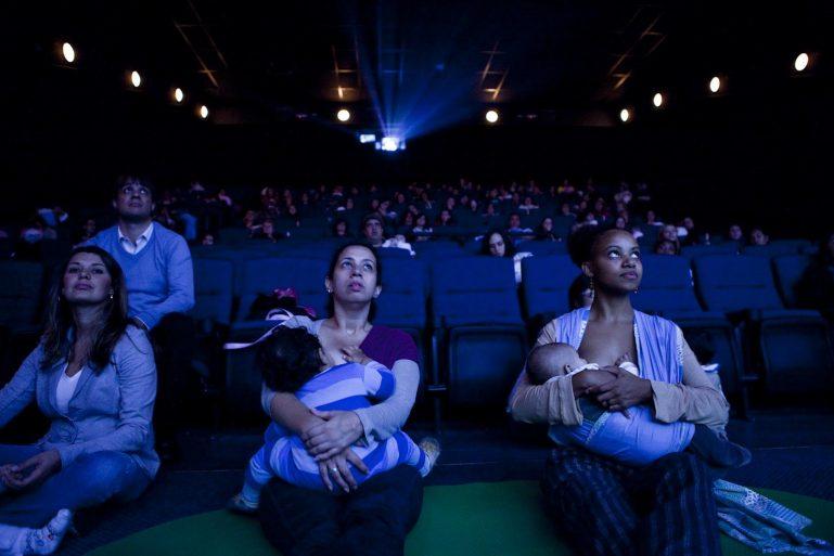 Amanhã tem Cinematerna no SuperShopping Osasco para mães com bebês