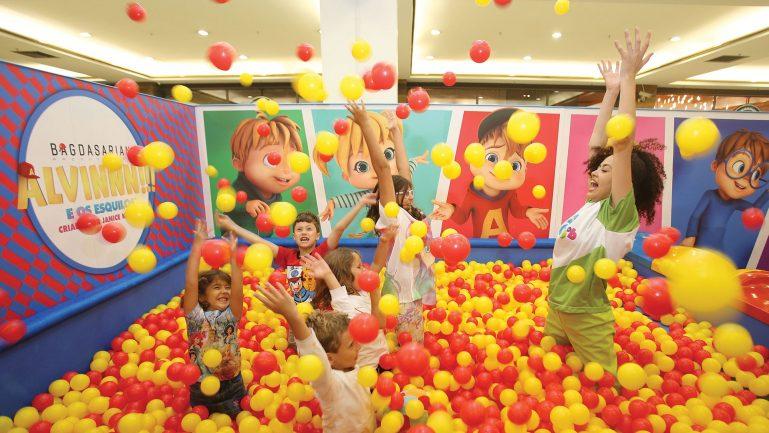 Shopping JK Iguatemi recebe Mundo Gloob com Alvinnn, Miraculous, DPA nas férias da criançada