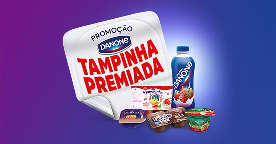 """Danone lança mega promoção """"Tampinha Premiada"""""""