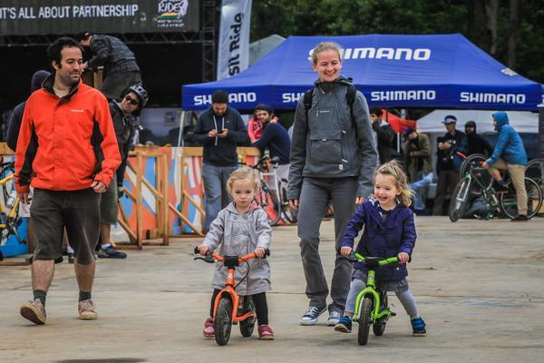 Pequenos se divertem no Bike Kids em evento gratuito no Jockey