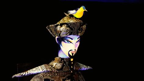 Fábula O Rouxinol e o Imperador Chinês ganha montagem da Cia Imago no Teatro Alfa