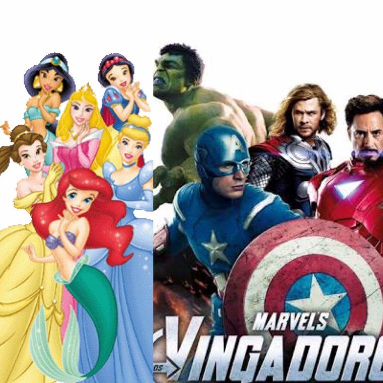 Princesas da Disney e Os Vingadores agitam o Shopping ABC