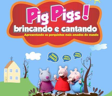 Musical da Peppa Pig no Teatro Bibi com descontão no PK