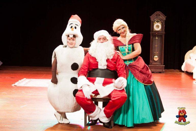 Natal de Anna, Elsa e Olaf no Teatro Extra Itaim e com desconto no Passeios Kids