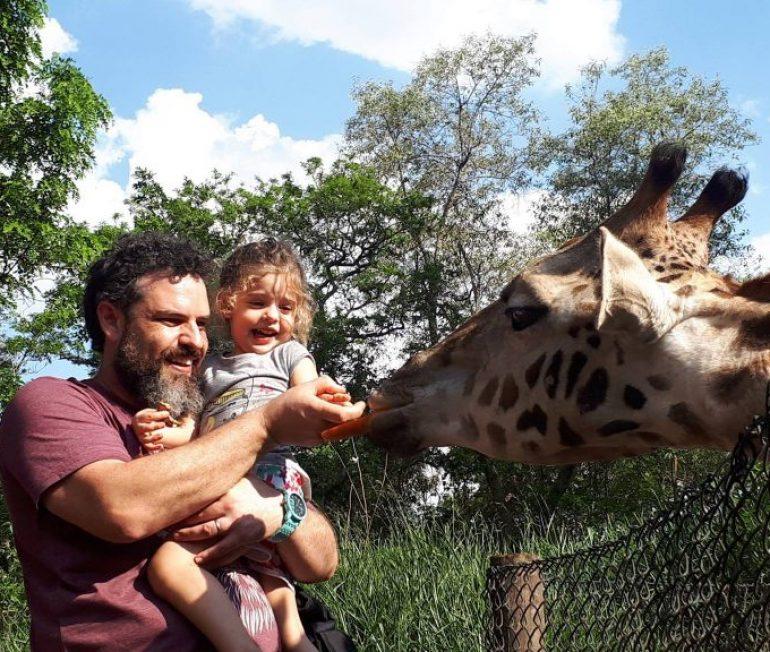 Saia da rotina com as crianças no Zooparque Itatiba