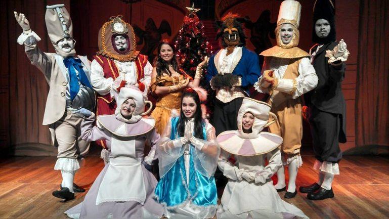 Espetáculo de Natal da Bela e a Fera por apenas R$ 20,00