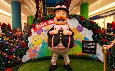 Bita faz show especial de Natal no Golden Square Shopping