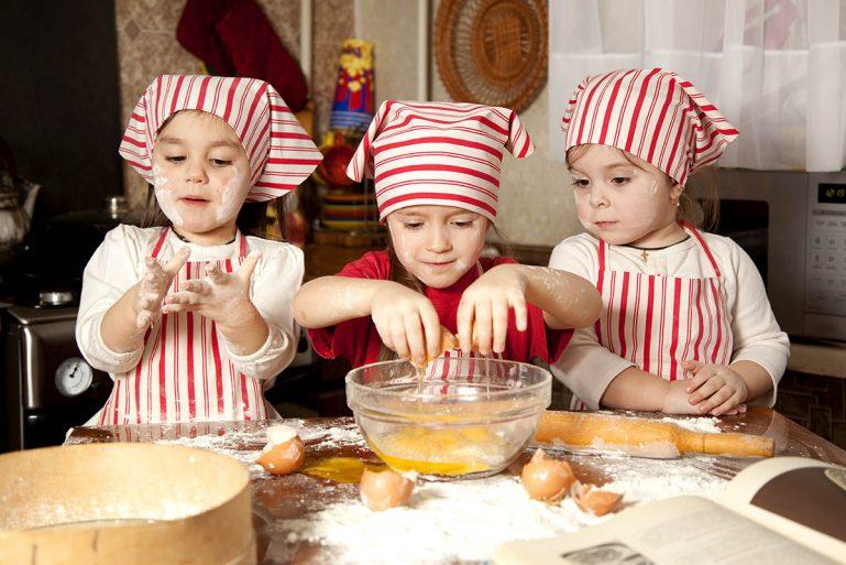Semana dos Pequenos Chefes nas férias do Play Space