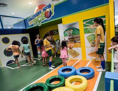Discovery Kids entra em clima esportivo com evento temático