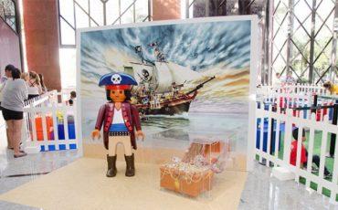 Minimundo Playmobil nas férias do Shopping Metrô Itaquera