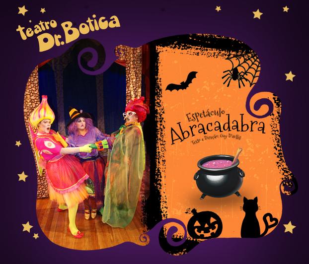 Teatro Dr. Botica, no Shopping Metrô Tatuapé, estreia peça Abracadabra