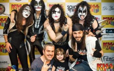 Teatro Alfa leva rock para os pequenos com Kiss For Kids