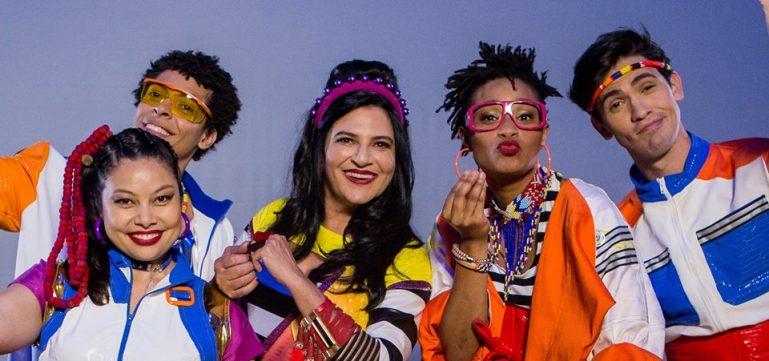 Show Tchiribim Tchiribom, da cantora Fortuna, embala crianças no Sesc Pompeia