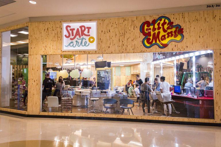 Start Arte e GlitzMania chegam ao Shopping VillaLobos