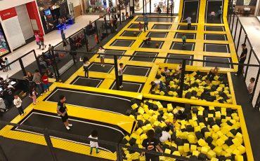 Vamos pular! Emotion Park está no Shopping Metrô Boulevard Tatuapé