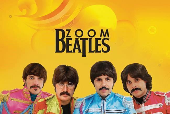 Zoombeatles for Kids, banda cover de Beatles, chega ao Teatro Opus e você compra com desconto no Passeios Kids