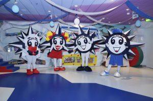 MSC Cruzeiro - O novo mascote irá se juntar à família DOREMI, a bordo do MSC Seaview