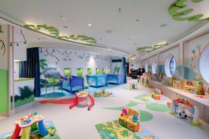 MSC Cruzeiro - Espaço Chicco® baby com toda as instalações necessárias para os jovens