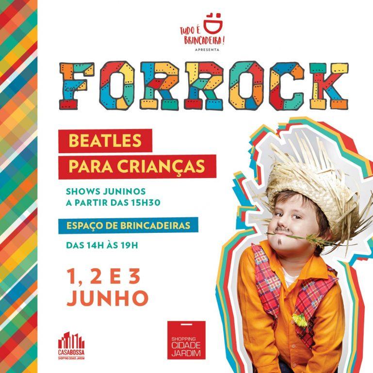Tudo É Brincadeira promove Festa Junina com show do Beatles para Crianças em ritmo de forró junino