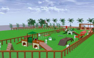 Mooca Plaza Shopping inaugura Pet Park gratuito para famílias se divertirem junto com seus cachorros