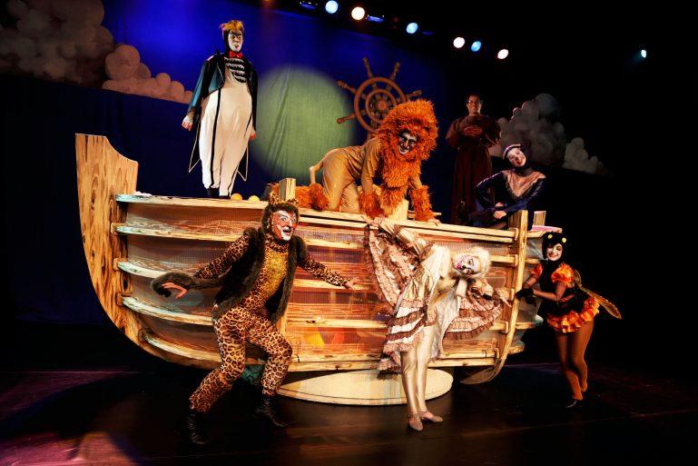 Espetáculo Arca de Noé, de Vinícius de Moraes e Toquinho, é um presente para as crianças