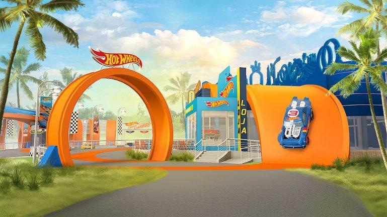 Para pirar! Área temática de Hot Wheels no Beto Carrero World terá show, restaurante e loja temáticos
