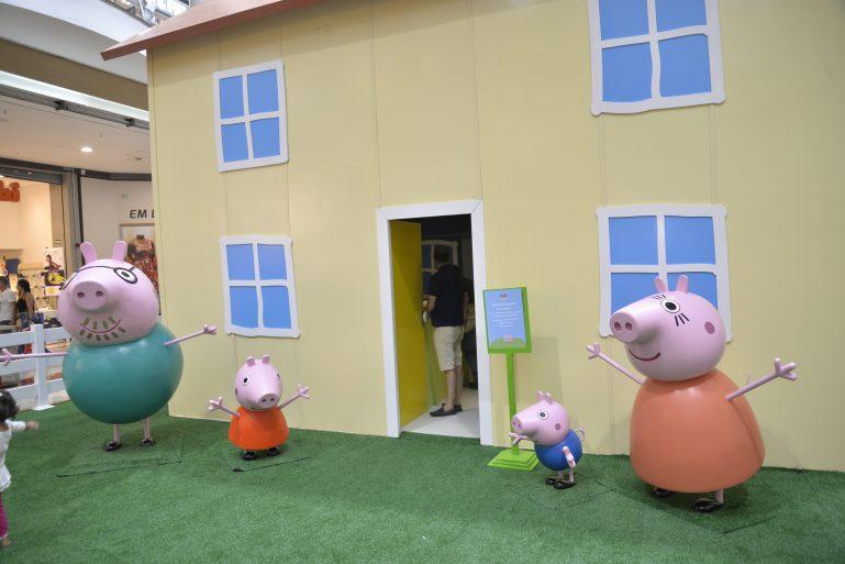 Peppa Pig diverte a criançada nas férias do Shopping Metro Tatuapé
