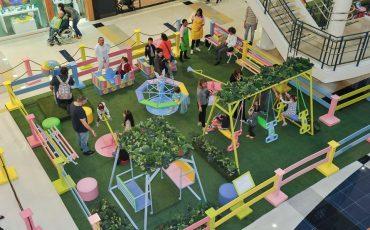 Para brincar: Parque das Cores, por Cecília Dale, tem atrações coloridas para o público infantil no Shopping VillaLobos