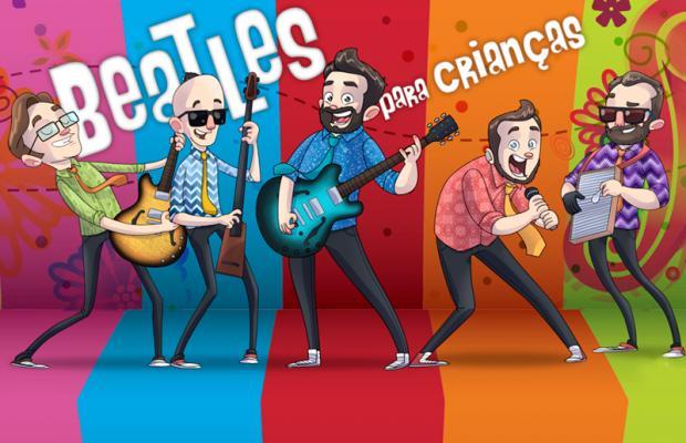 Casa Natura Musical recebe Beatles para Crianças para show em comemoração aos quatro anos da banda